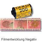 Filmentwicklung Negativ