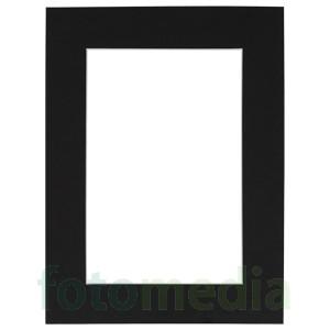 passepartout schwarz 70x100 cm f r bild 50x70 cm. Black Bedroom Furniture Sets. Home Design Ideas